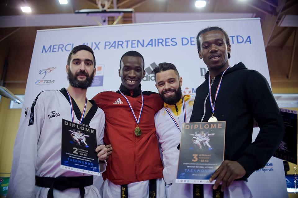 WESLEY Vice Champion de France 2017 -68Kg Catégorie 30-35ans